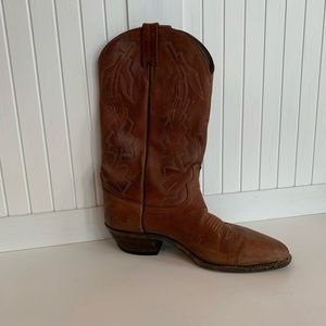 [B•O•O•T•S] dan post genuine leather cowboy boots